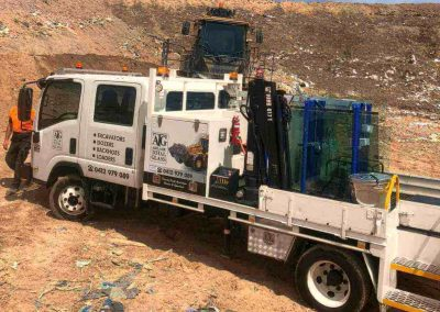 Fully equipped truck for onsite jobs in suburban Adelaide